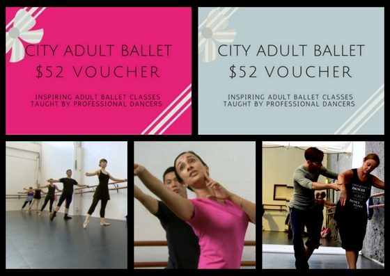 City Adult Ballet Gift Voucher