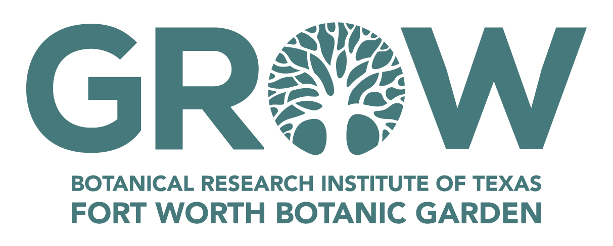 GROW logo for Fort Worth Botanic Garden and Botanic Research Institute of Texas