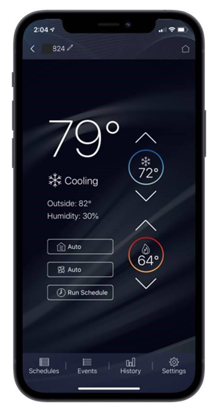 American Standard Home smartphone