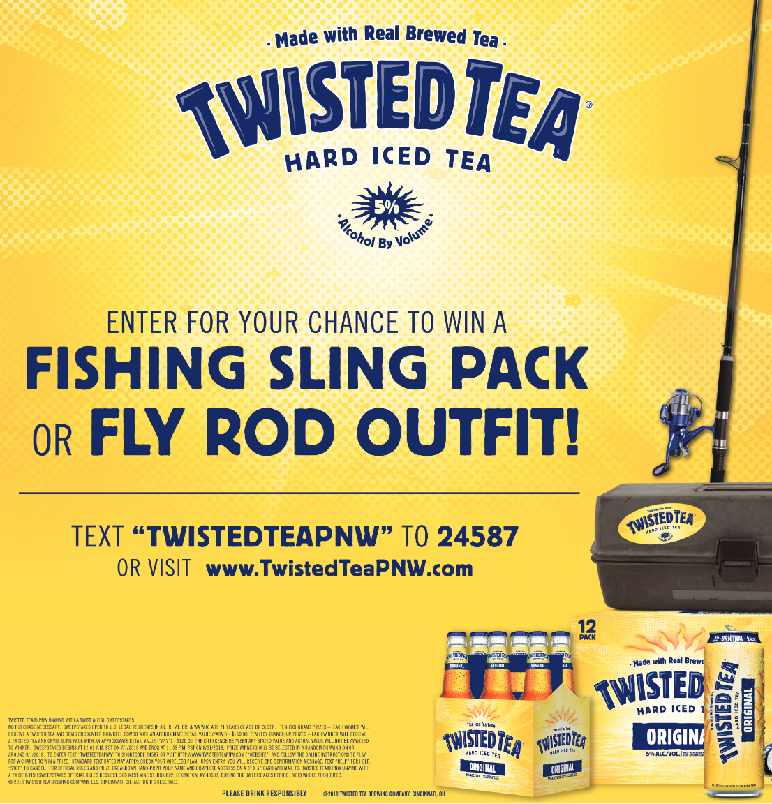 Two if by tea sweepstakes winners